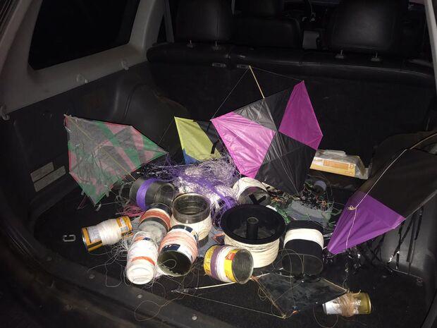 Dono de pipa com cerol ameaça moradora de morte no Aero Rancho