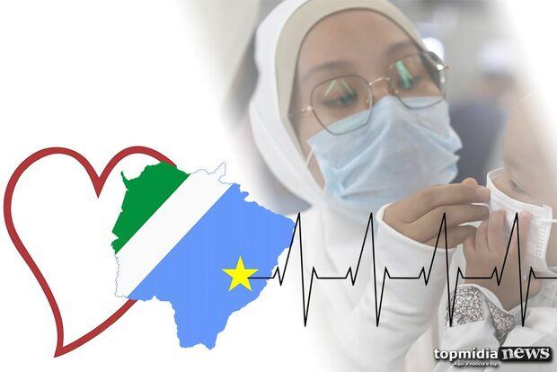 MS é, DE LONGE, Estado com menos mortes pela COVID-19 no Brasil