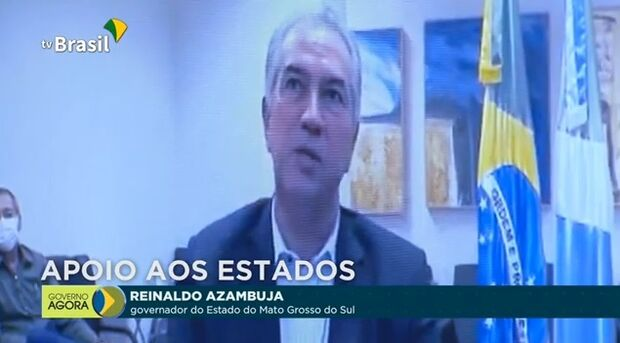 VÍDEO: Reinaldo pede a Bolsonaro socorro imediato contra crise e congelamento de salários