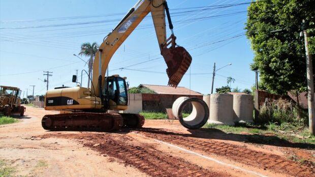 Prefeitura dá início ao 1º trecho de drenagem no Nova Lima
