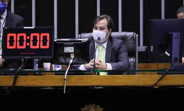 Maia avalia adiamento de eleição municipal, mas sem prorrogação de mandatos