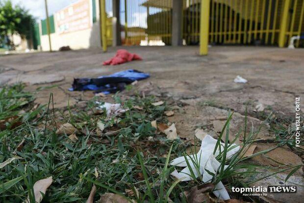 Rapaz leva tiro durante festinha no Dom Antônio