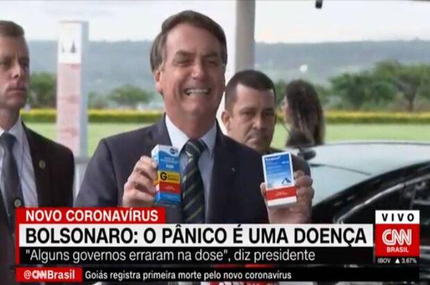 Maioria dos leitores é a favor da cloroquina contra a covid, mas 'médico é que decide'