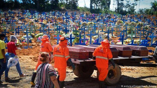 NÃO VAI TER FIM? Brasileiros mortos pela covid-19 já chegam a 34.021