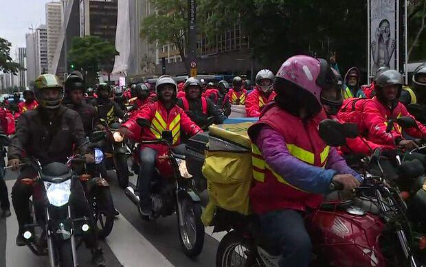 Sem liderança clara, motoboys de apps preparam 'greve' e ato no Horto Florestal