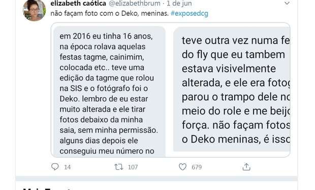 Fotógrafo de Campo Grande denunciado por assédio sexual nega acusações