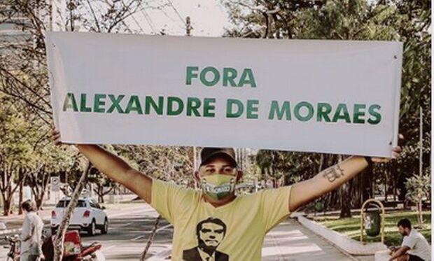 """De MS, integrante """"dos 300"""" foi bancado pelo governo Bolsonaro durante protestos com tochas"""