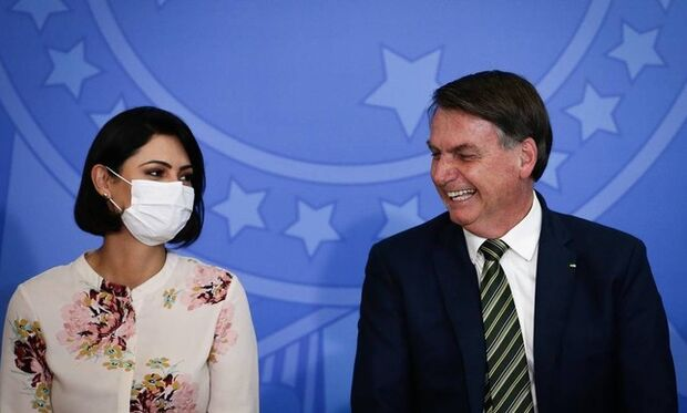 Michelle Bolsonaro aguarda resultado de exame da covid-19