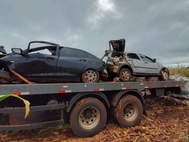 DESNECESSÁRIO: contrabandista capota carro e morre ao fugir da polícia em Ponta Porã