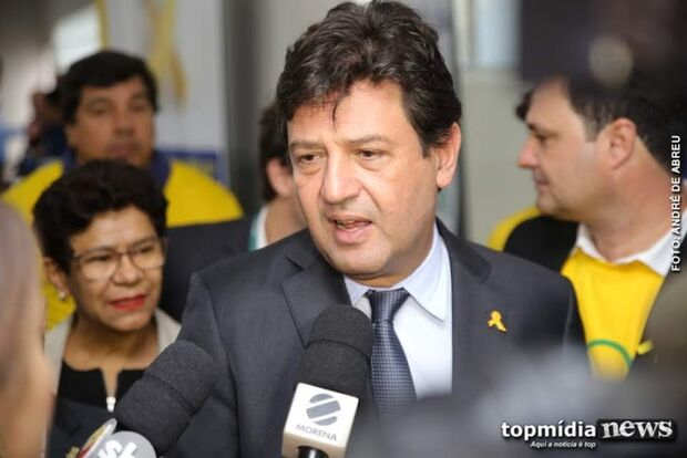 Mandetta vai analisar pandemia do coronavírus em live com vereadores de Campo Grande