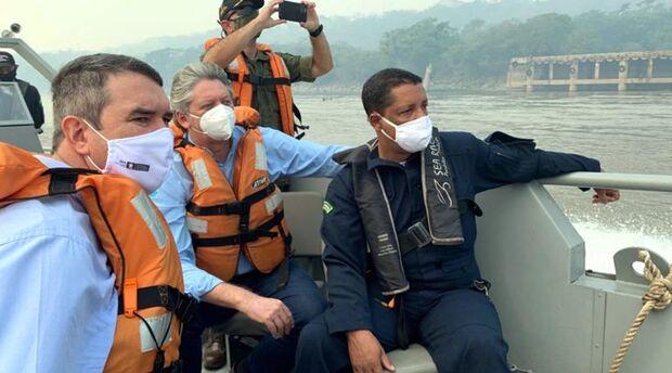 Força-tarefa para combater incêndios no Pantanal dá resultados efetivos, diz Riedel