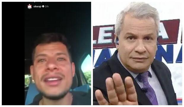 NA LATA: Sikêra Jr compartilha vídeo e 'abre' campanha de policial demitido