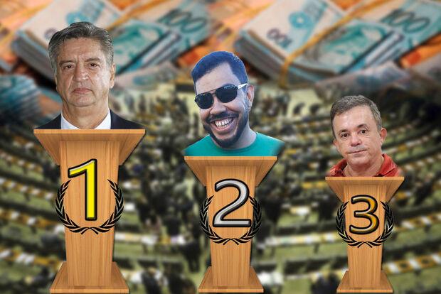 Ranking do COTÃO: deputados de MS gastam de R$ 17 mil a R$ 226 mil