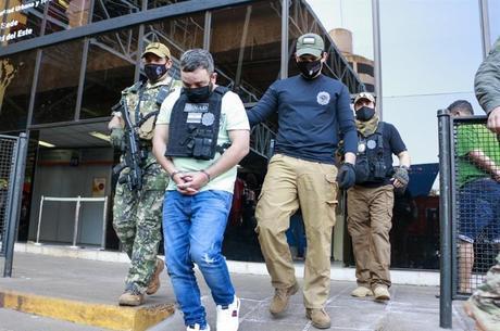 Traficante brasileiro  condenado a 70 anos de cadeia é preso no Paraguai