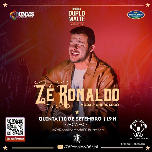 Sertanejo faz live para arrecadar dinheiro para ajudar músicos de MS