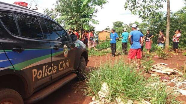 Bombeiros socorrem morador atingido na cabeça com facão em aldeia de Dourados