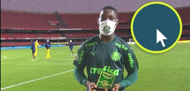 Palmeiras supera Santos no Morumbi