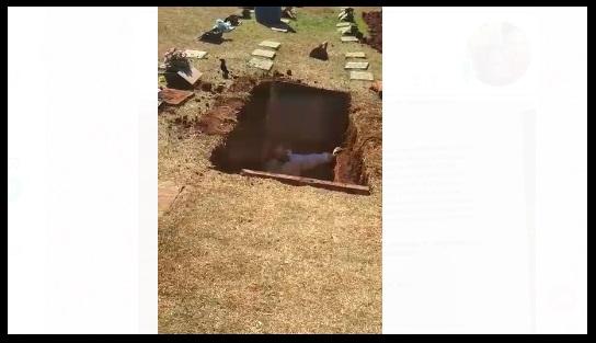 No enterro da mãe, filha descobre que corpo do pai sumiu em Campo Grande