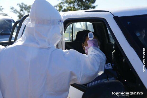 Coronavírus está presente nos 79 municípios de Mato Grosso do Sul