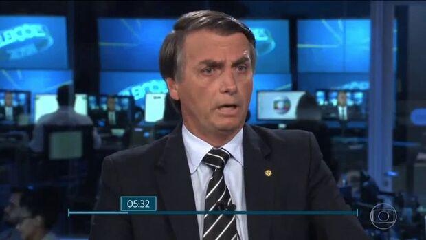 Bolsonaro diz que Globo só espalhou o pânico e que lockdown matou gente no Brasil