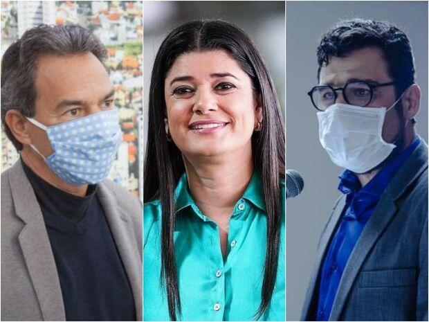 Marquinhos lidera em Campo Grande, seguido de Rose e Harfouche, diz pesquisa