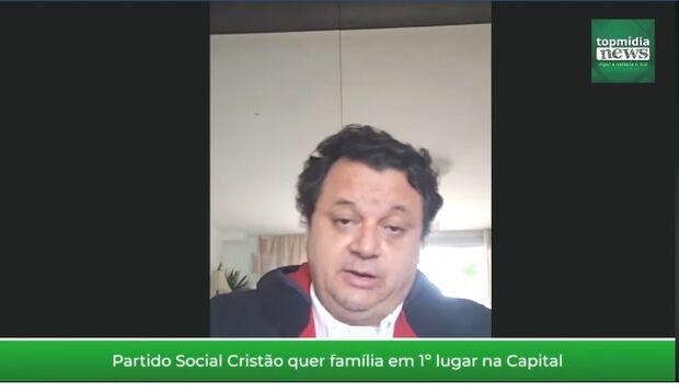 Vídeo: defendendo pauta cristã, Paulo Matos aposta na reestruturação da prefeitura de Campo Grande
