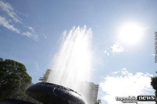 Sexta-feira será quente e chuvosa em algumas regiões de MS