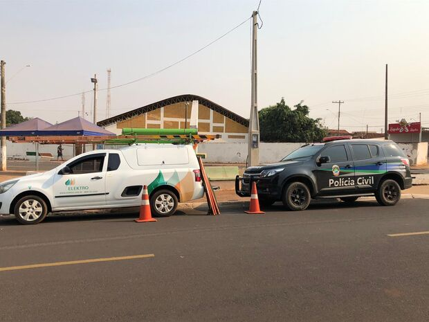 Polícia Civil flagra cinco empresas furtando energia em Brasilândia