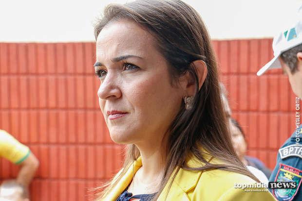 NA LATA: Adriane Lopes segue vice de Marquinhos