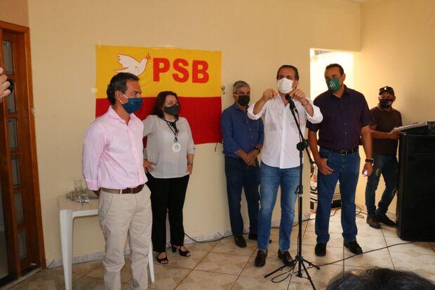 Convenção do PSB oficializa apoio a Marquinhos Trad e lança 29 candidatos a vereador