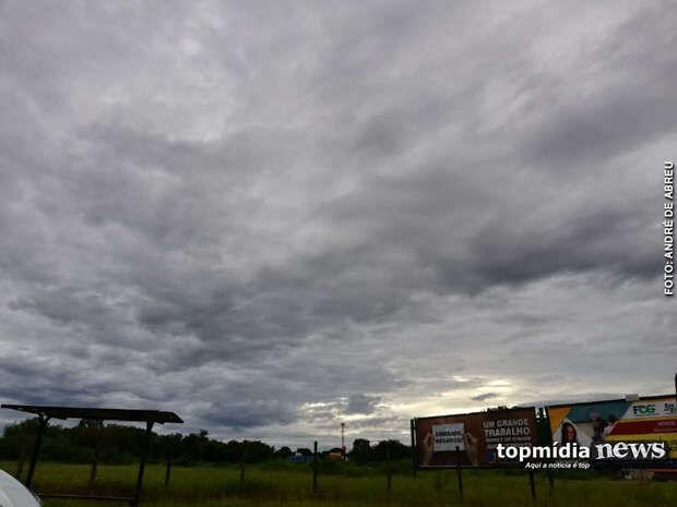 Sextou sem chuva: tempo seco predomina e MS continua com calor intenso