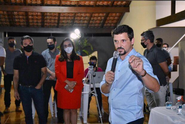 Diante de Marquinhos, Rede garante apoio à reeleição em Campo Grande