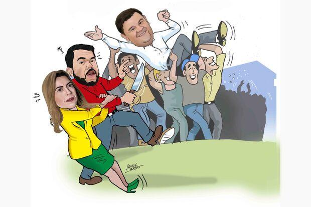 Facada de Bolsonaro todos conhecem, mas a do Trutis tem cara de encenação