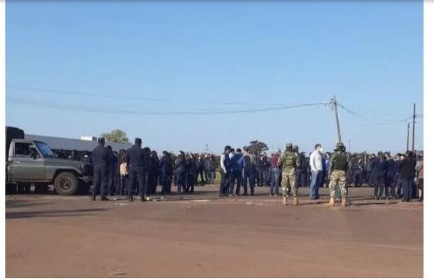 Comerciantes de Pedro Juan Caballero protestam por reabertura da fronteira