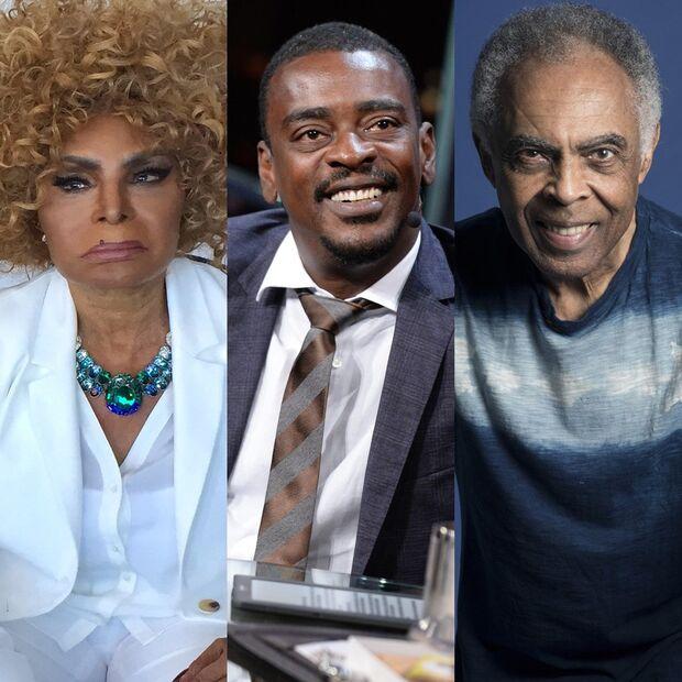 Lives de hoje: Gilberto Gil, Elza Soares, Seu Jorge e mais