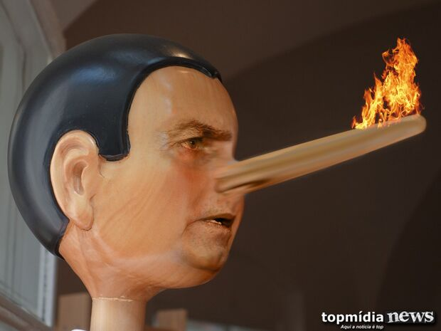 NA LATA: governo Bolsonaro mente pra esconder queimada no Pantanal