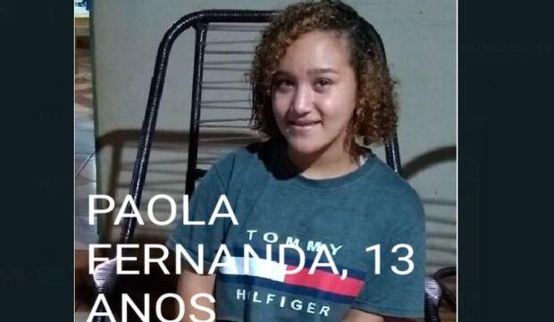 Adolescente de 13 anos some em Campo Grande e família vive desespero no Paulo Coelho