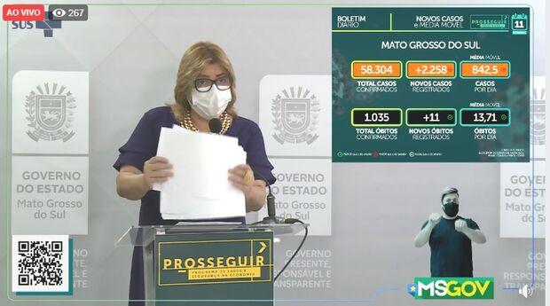 MS contabiliza mais 11 mortes pela covid-19