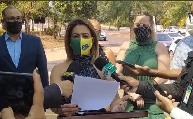 Soraya destitui Trutis do comando do PSL e anula candidatura