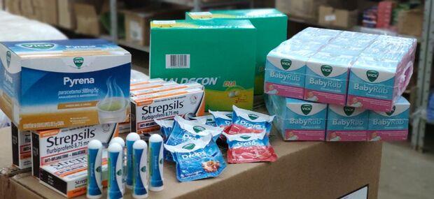 Asilos recebem 'kit gripe' doados pela Cruz Vermelha em Campo Grande