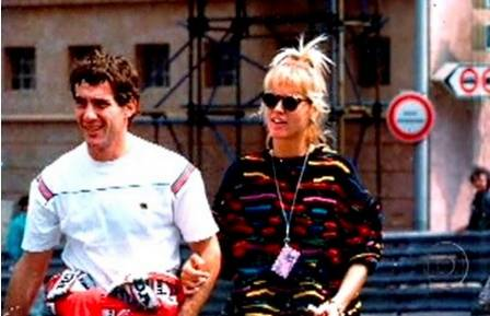 Xuxa relembra namoro com Senna e diz que tinha conexão espiritual com piloto