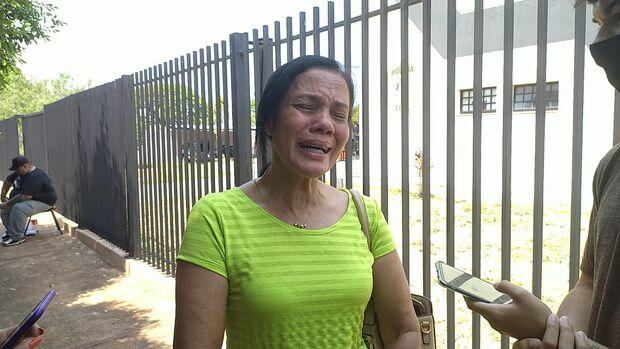 Mãe diz que não tem raiva e quer advogado no enterro do filho morto em acidente