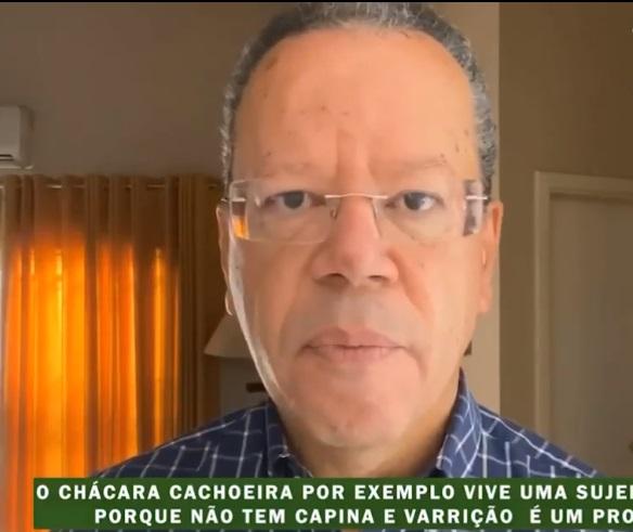 Bluma do PV garante: Chácara Cachoeira vai ter asfalto novo e base móvel da GCM