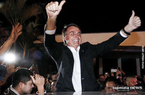Bolsonaro tem aprovação de 45% em Campo Grande, avalia Ibope