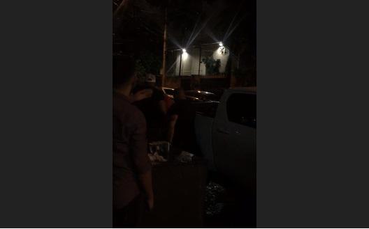Cliente diz ter apanhado de quatro seguranças em porta de boate na Ernesto Geisel
