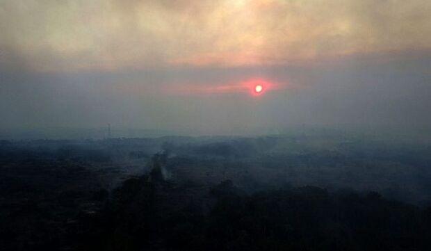 Chuvas eliminam focos de incêndios no Pantanal, mas Bombeiros mantêm vigilância na área