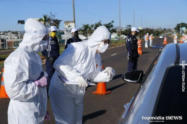 MS tem mais nove mortes por coronavírus em 24 horas