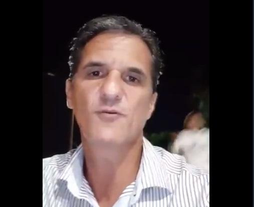 VÍDEO: candidato tem celular roubado enquanto fazia live na divisa Brasil-Paraguai