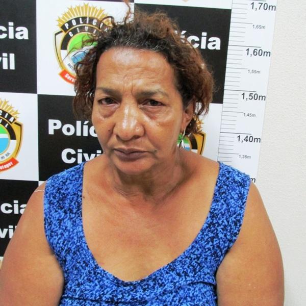 Mulher de 57 anos é presa  por tráfico de drogas