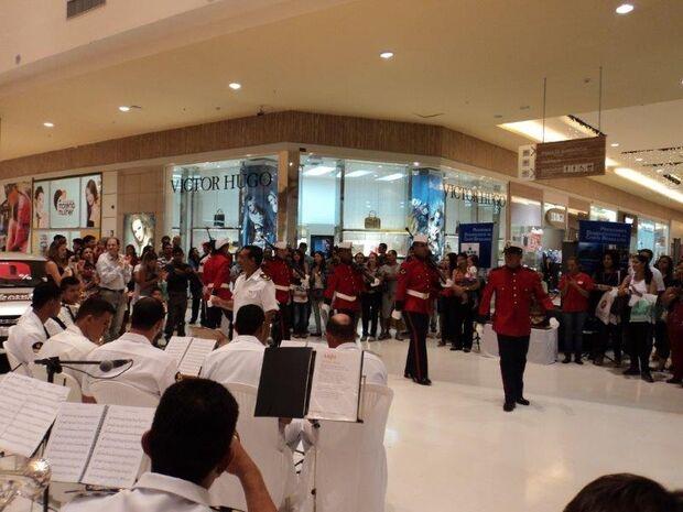 Shopping da Capital recebe pela segunda vez exposição da Marinha brasileira